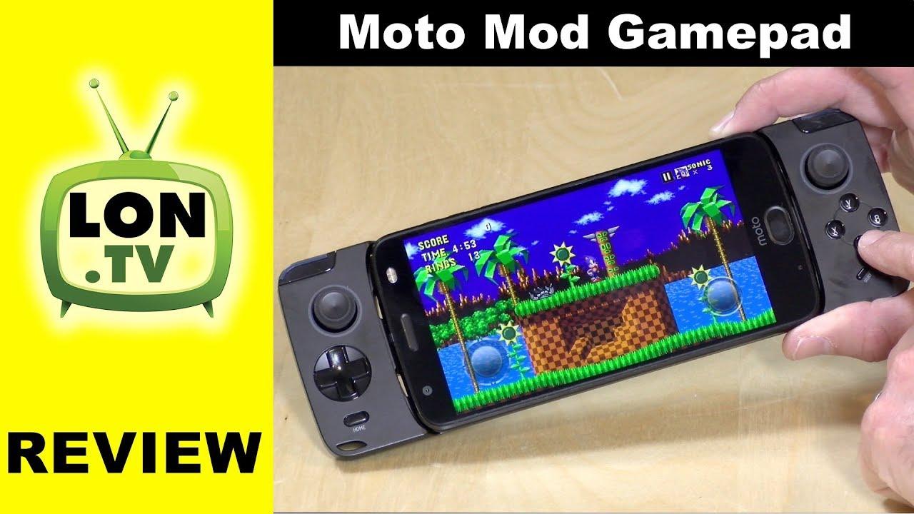 info for 56e84 73258 Moto Mod Gamepad Review for Motorola Z Series Phones
