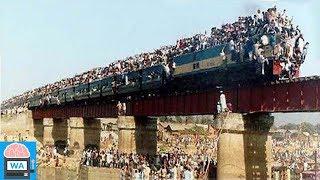 Die 5 gefährlichsten Bahnstrecken der Welt!