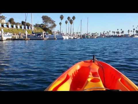 Kayaking,  Oceanside Harbor 10.21.16