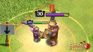 MINI KING VS. NORMAL KING | Who Will Win? | Clash of Clans Shrink Trap Gameplay