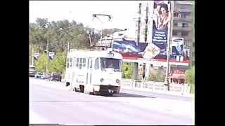 Екатеринбург-2002 год(Видео из моего архива.Снималось на кассетную видеокамеру. В основном ул.Челюскинцев., 2015-12-01T22:02:38.000Z)