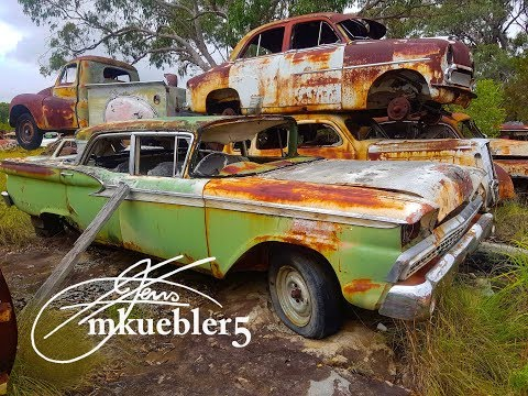 #Abandoned Cool old Classic car grave yard