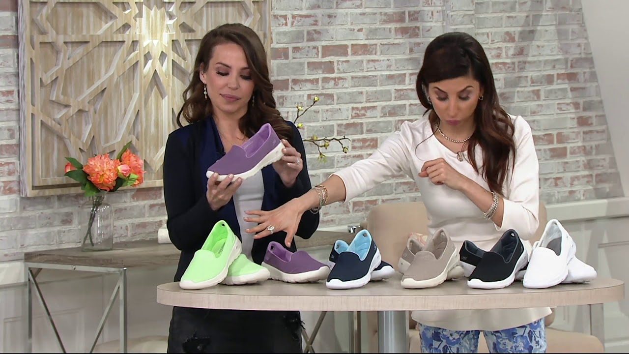 8223e213d66e7 Skechers GO Walk Joy Slip-on Shoes - Radiant on QVC - YouTube