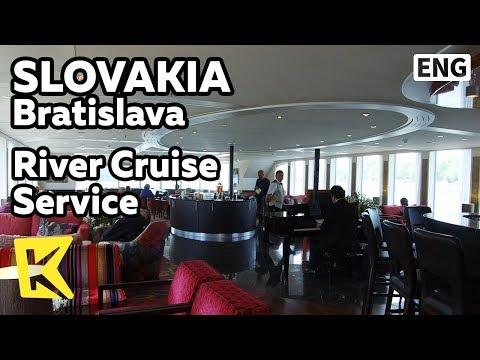 【K】Slovakia Travel-Bratislava[슬로바키아 여행-브라티슬라바]리버크루즈의 서비스/River Cruise/Danube River/Service
