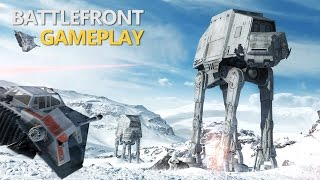 Star Wars Battlefront - Hoth Walker Assault (Full Match & Commentary)