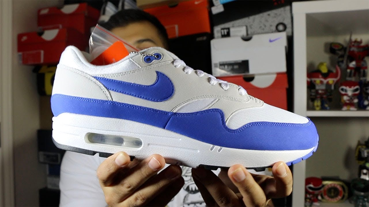 Nike Air Max 1 Anniversary Blue Restock Review!