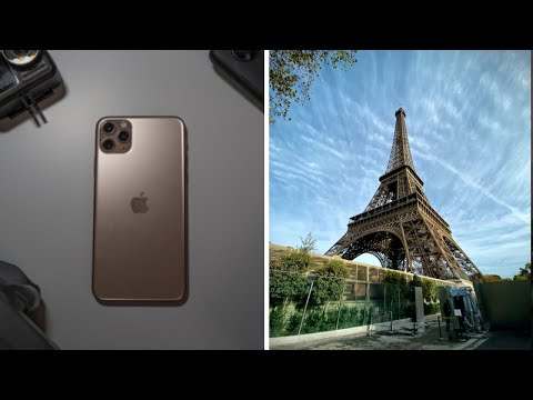 Can The IPhone 11 Pro REPLACE My Camera Gear? (Paris Birthday VLOG)