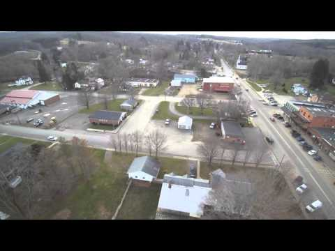 Sugar Grove PA Drone Fly Over Part 1