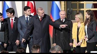 Эрдоган увел девушку Путина