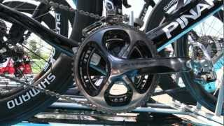 Repeat youtube video EXCLUSIVE:  SHIMANO DURA-ACE FOR 2011: 11 SPEED INSTEAD 10. IAN STANNARD IS USING IT DURING THE GIRO