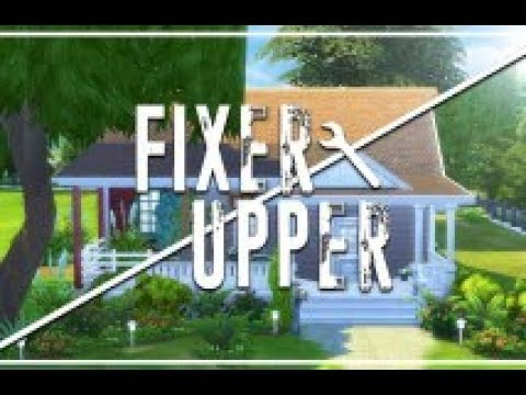 NEW(fixer Upper Series) Sims 4 (ps4) New build (English Stately Home)1 OF 2