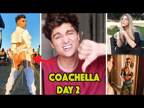 *ROASTING* YOUTUBERS COACHELLA OUTFITS...PLZ STOP JAMES CHARLES!! thumbnail