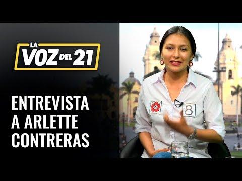 Arlette Contreras, Candidata Al Congreso Por El Frente Amplio