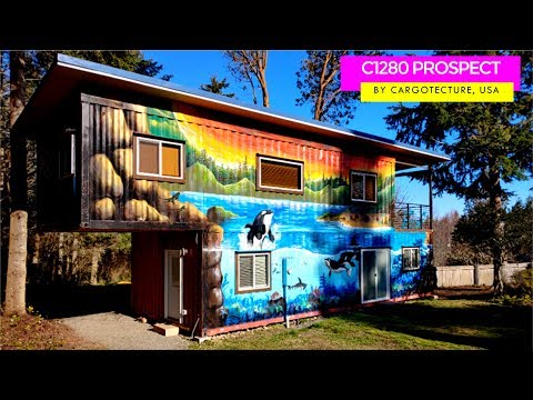 C1280 Prospect: Container House in USA by Cargotecture