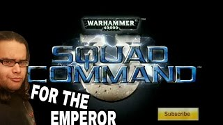 Bring on the TACTICS! (Warhammer 40K: Squad Command(PSP)