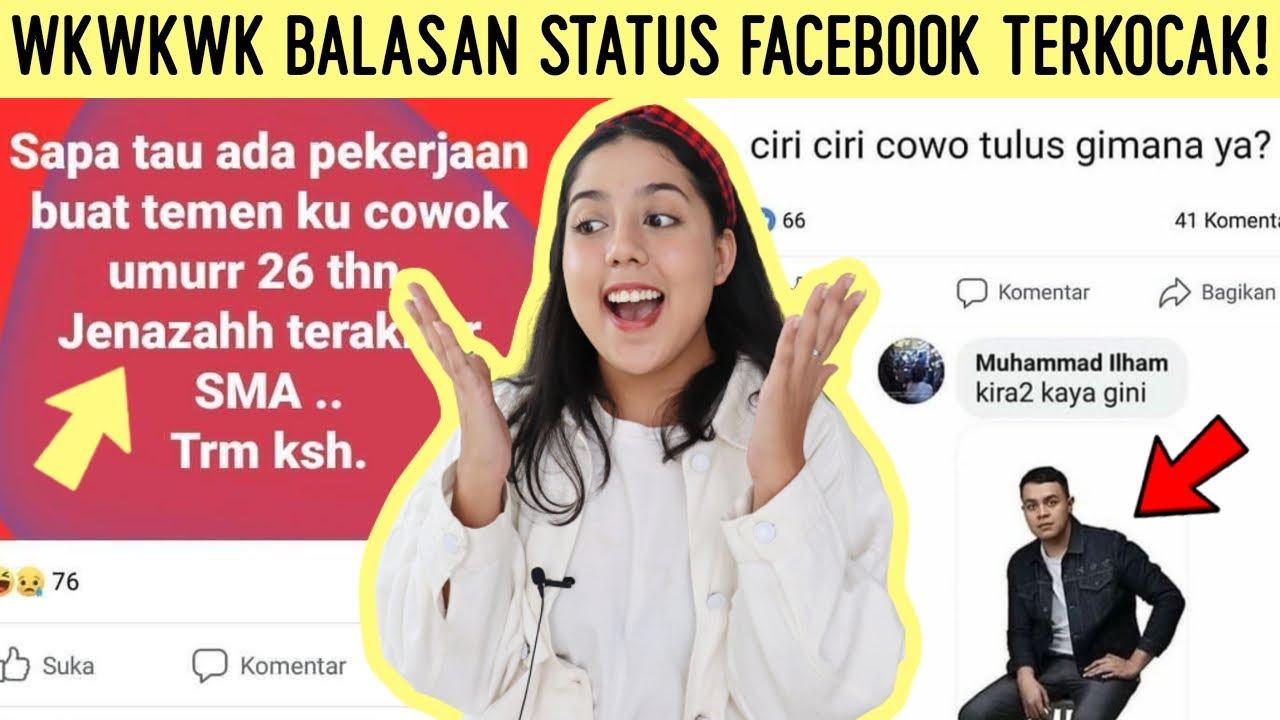 HAHA! Balasan Status FACEBOOK Terkocak!! 🤣