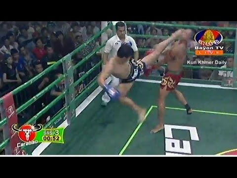 Khmer boxing 2016 this week, Vong Noy Vs. Thai, Bayon Boxing, 27 March 2016