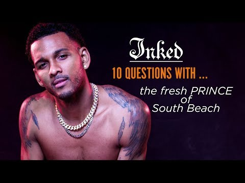 A Perfect Night Out With The Fresh Prince of South Beach | INKED