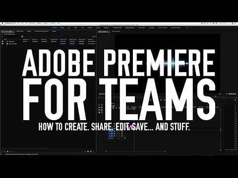 Team Projects in Premiere - Tutorial #1