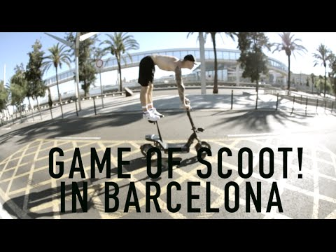 GAME OF SCOOT & BEST WHEELIE ON A SCOOTER EVER!