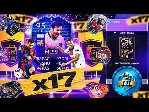 What do you get from 17 Guaranteed FIFA 21 Party Bags Packs?