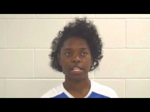 Interview with Khaliah Kinneya member of Central Academy of Excellence Volleyball Team