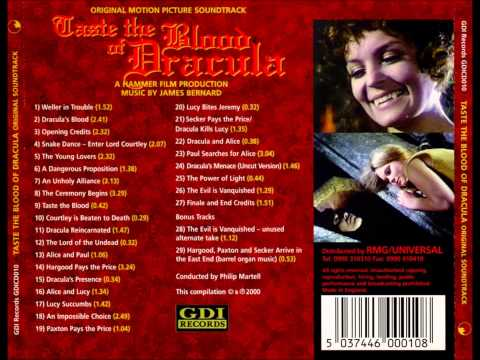 James Bernard - Taste The Blood Of Dracula (Full OST - Hammer Horror)