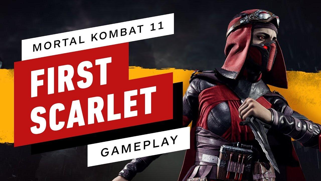 Mortal Kombat 11 - Full Match (Sonya vs. Skarlet)