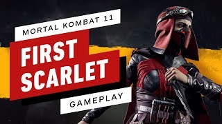 Mortal Kombat 11 - Full Match (Sonya vs. Skarlet)