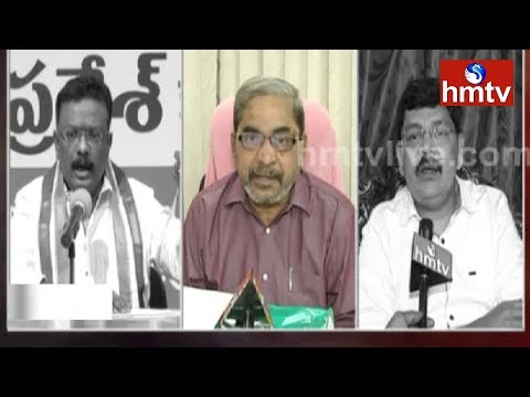 Political Parties and Journalist Unions Response on VK Singh Inappropriate Comments | hmtv