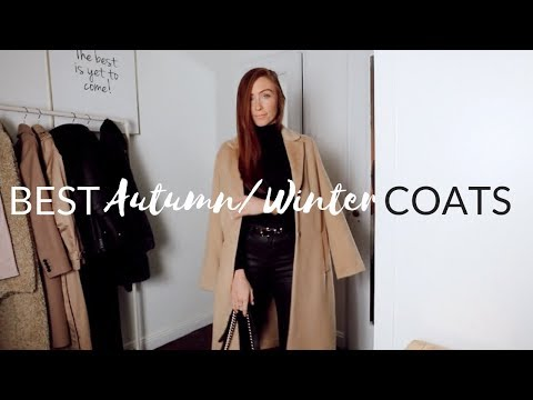 TOP 7 AUTUMN / WINTER COATS - Autumn Winter Coat Collection 2018