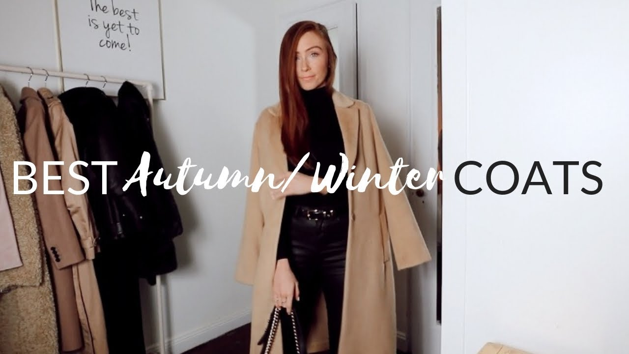 TOP 7 AUTUMN / WINTER COATS - Autumn Winter Coat Collection 2018