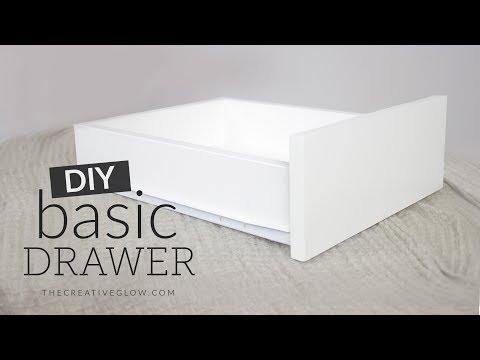 DIY Basic Drawer || Easy & Strong