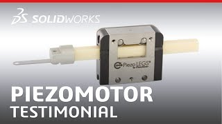 PiezoMotor: Testimonial - SOLIDWORKS