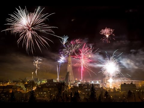 Happy New Year 2017 Reykjavík