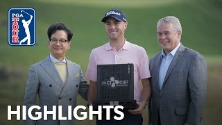 Justin Thomasand39 Winning Highlights From The Cj Cup 2019