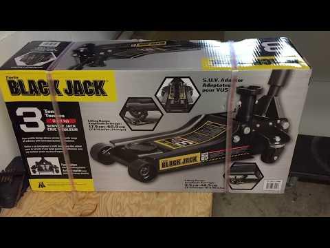 UNBOXING: Costco Torin 3Ton Black Jack