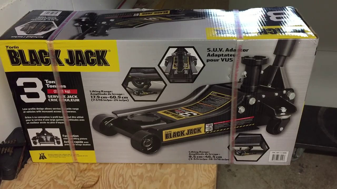UNBOXING Costco Torin 3Ton Black Jack  YouTube