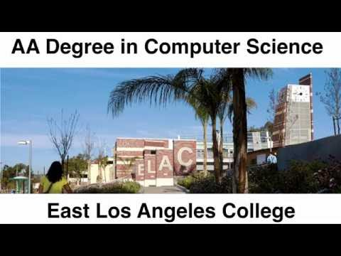 How to earn an AA Degree in Computer Science from East Los Angeles College (ELAC)