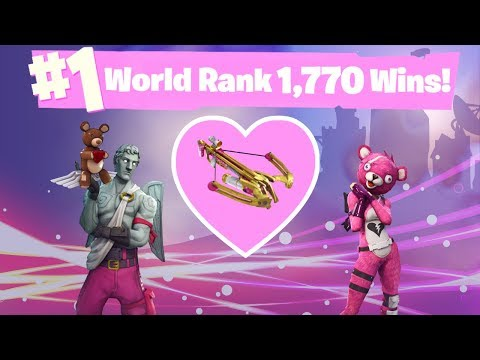 NEW UPDATE CROSSBOW - #1 World Ranked 1,778 Solo Wins - GTX 1080TI and 20,000 vbucks giveaway