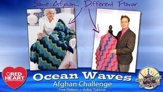 Learn to Crochet: Ocean Waves Afghan