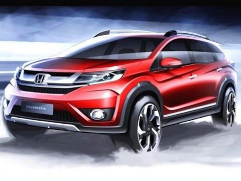 Good New Honda BRV Crossover SUV 2016 First Look India || Exterior U0026 Interior  Review