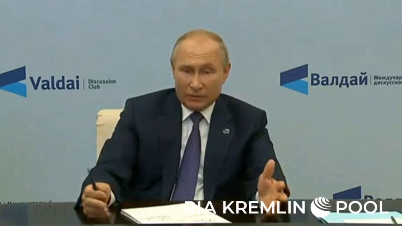 Комментарий Путина по ситуации с Навальным