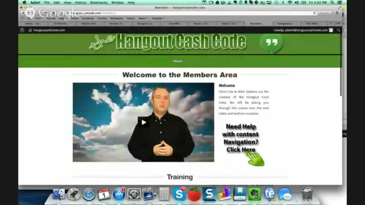 Hangout Cash Code review - How to Make Money with Google Hangouts