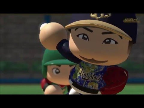 Jonny Gomes Home Run - Japanese Videogame 実況パワフルプロ野球2016
