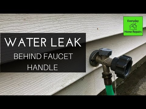how-to-fix-a-water-leak-behind-the-handle-of-an-outdoor-faucet