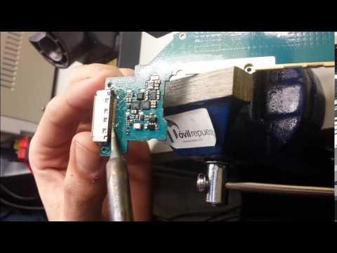 Reparar o cambiar conector de carga Samsung Galaxy Tab (Assembly).