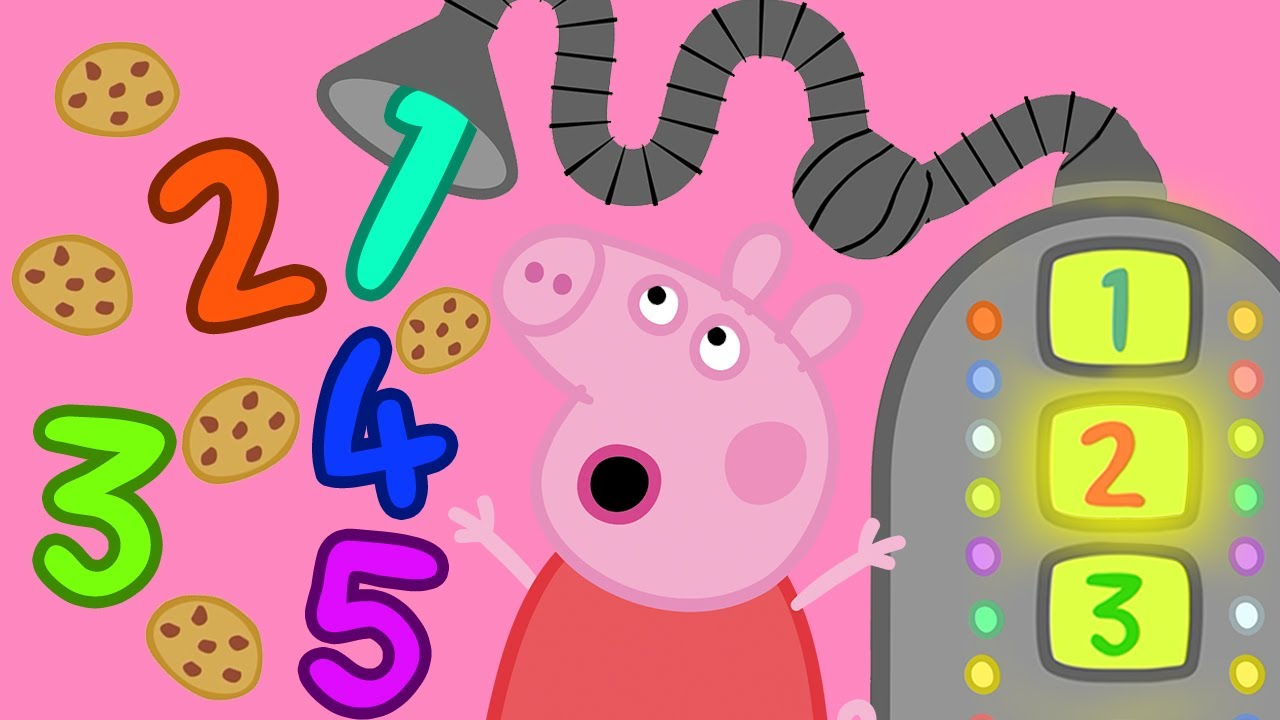 Peppa Pig 💯 Counting with Beep Bop Boop - 8 | Learning Videos for Toddlers | Learn with Peppa Pig