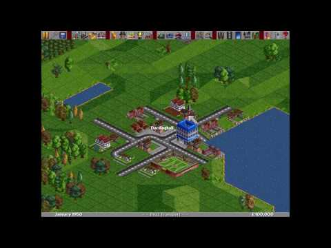 Transport Tycoon Deluxe - Complete Demonstration (1995) [MS-DOS]