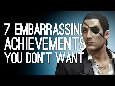 7 Embarrassing Achievements You Don't Want on Your Gamercard Pt. 2